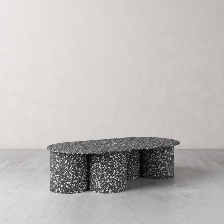 Modern Low Twins Coffee Table by Pietro Franceschini For Sale