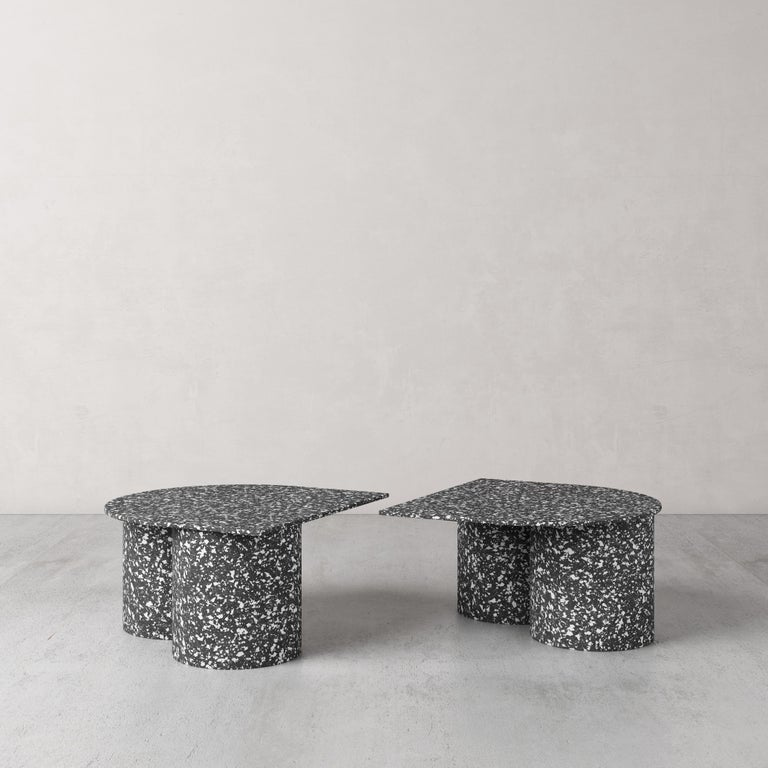 Corian Low Twins Coffee Table by Pietro Franceschini For Sale