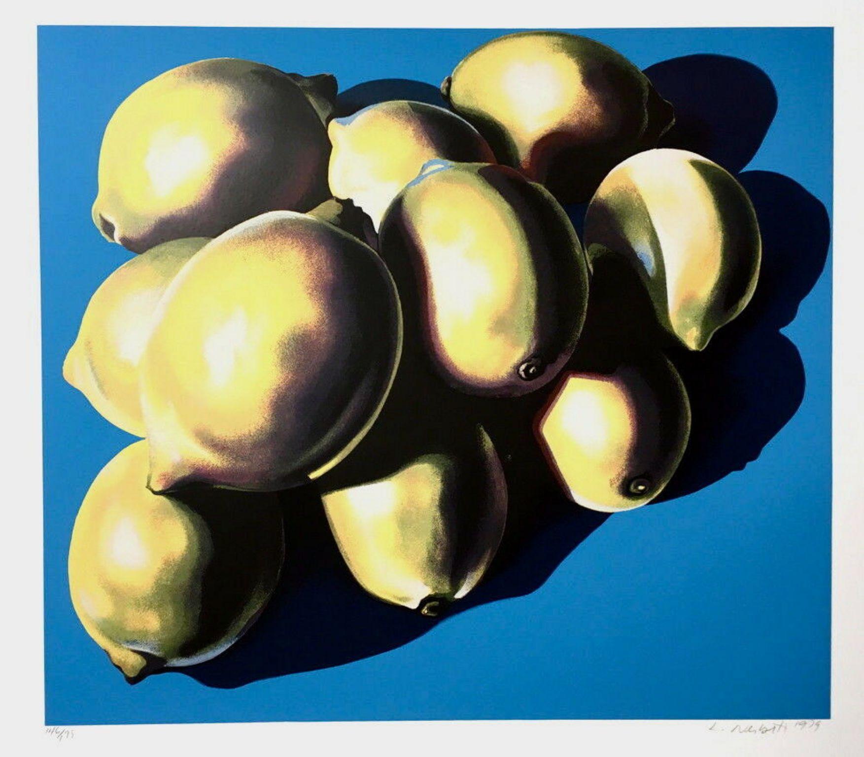 10 Lemons, Limited Edition Silkscreen, Lowell Nesbitt