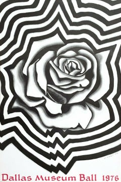 Electric Rose, 1976 Offset Lithograph