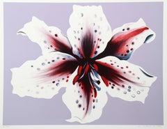 Lilium, Silkscreen by Lowell Nesbitt