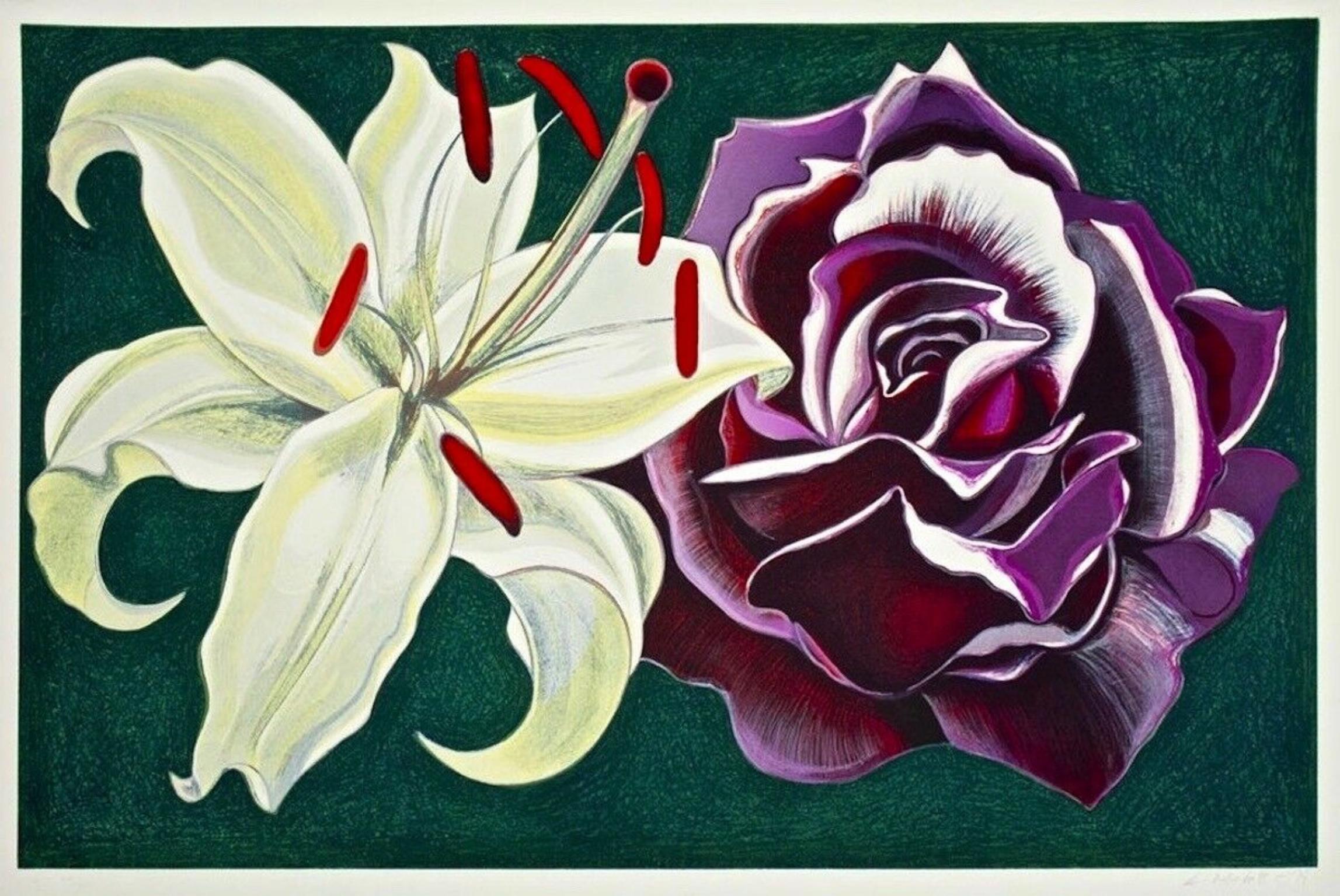 Lily & Rose, Limited Edition Silkscreen, Lowell Nesbitt