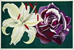 Lily & Rose, Limited Edition Silkscreen, Lowell Nesbitt