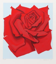 Red Rose from the Stamps series