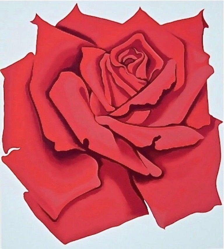 Lowell Nesbitt Landscape Print - Rose