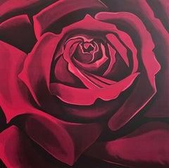 Rose, Limited Edition Lithograph, Lowell Nesbitt
