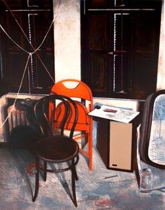 Studio Still Life: 1970s New York/Soho vintage artist studio portrait