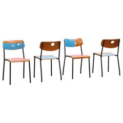 Loyalty is Royalty / Set of Four Dining or Kitchen Chairs