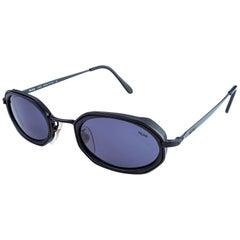 Lozza hexagonal vintage sunglasses, Italy 80s