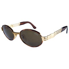 Lozza oval vintage sunglasses 80s