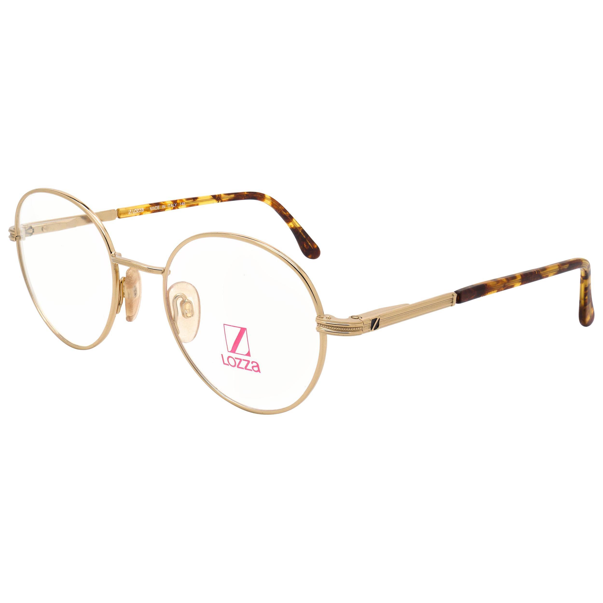 Lozza round vintage glasses frame