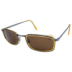 Lozza vintage sunglasses rectangular, Italy 80s