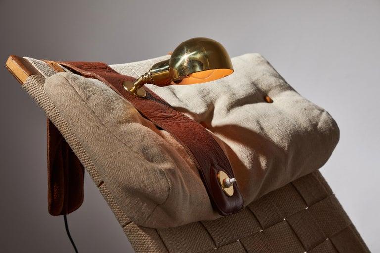 Mid-Century Modern Lp01 Armchair Lamp by Luigi Caccia Dominioni for Azucena For Sale
