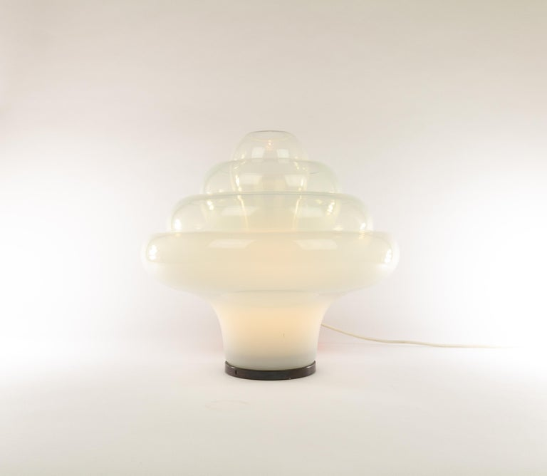 Italian LT 305 Table Lamp in Murano Glass by Carlo Nason for A.V. Mazzega, 1960s For Sale