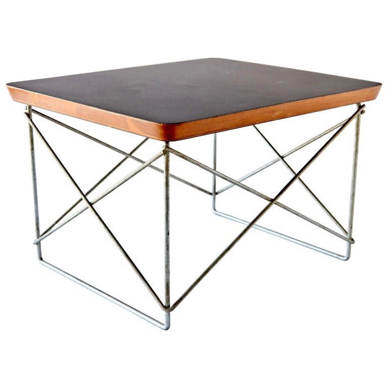 """""""LTR"""" Occasional Table by Charles Eames For Sale"""