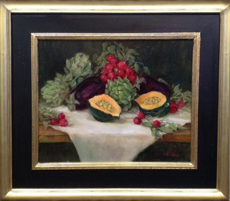 Lu Haskew Still-Life Painting - Market Fresh