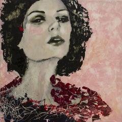 Amirah, Mixed Media on Canvas