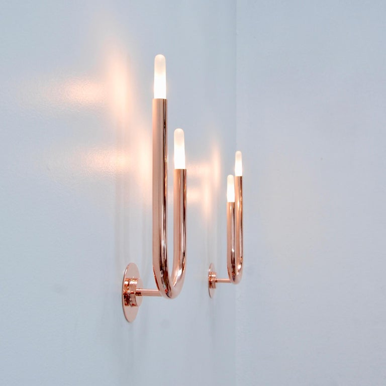 LU Wall Sconces CP For Sale 7