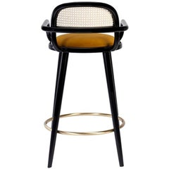 Luc Bar Stool Upholstered Seat