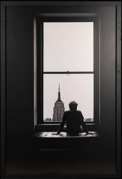 Lio, black and white photograph of New York
