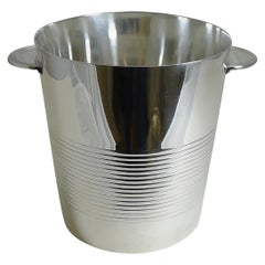 Luc Lanel for Christofle, Champagne Bucket / Wine Cooler, Vulcan, circa 1940