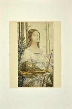 Salomé - Original Lithograph by Luc-Olivier Merson - 1899
