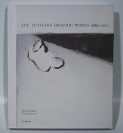 2012 After Luc Tuymans 'Luc Tuymans Graphic Works 1989-2012' Contemporary Black