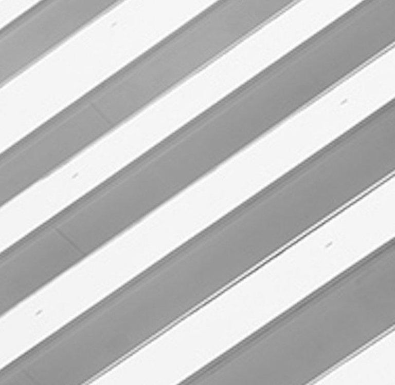 Miami Stripes, Small Black and White Abstract Architectural Photograph, 2016 For Sale 3