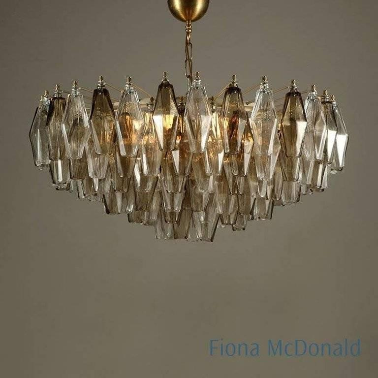 Mid-Century Modern Luca Chandelier, Fiona Makes For Sale