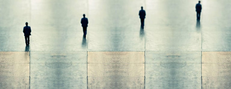 Contemporary Photography: The Walk (Tate People Collages)