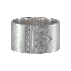 Luca Jouel Diamond and Silver Ikon Ring