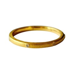 Luca Jouel Diamond Aster Ring in Yellow Gold