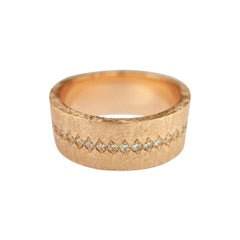 Luca Jouel Diamond Demi Ancienne Diamant Ring in Rose Gold