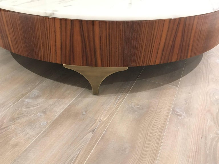 Luca Scacchetti, Coffee Table, Percorsi Collection, Oak, Italy In Excellent Condition For Sale In Milan, Italy