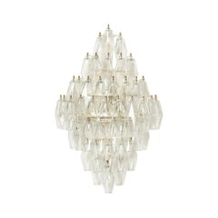 Luca Wall Light - Bespoke - with a Range of Polyhedron Murano Glass Colours