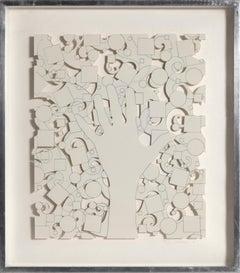 Hand, Die-Cut Screenprint by Lucas Samaras 1975