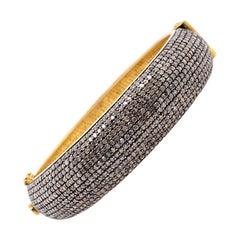 Lucea New York Rustic Diamond Bangle Bracelet
