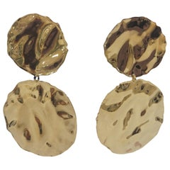 Lucedeimieiocchi gold silver pendant boutons earrings