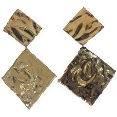 LuceDeiMieiOcchi silver gold earrings