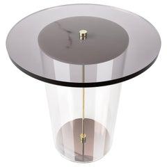 Lucent Side Table by Fabian Zeijler