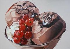 DELIZIA DI STAGIONE, Painting, Oil on Canvas