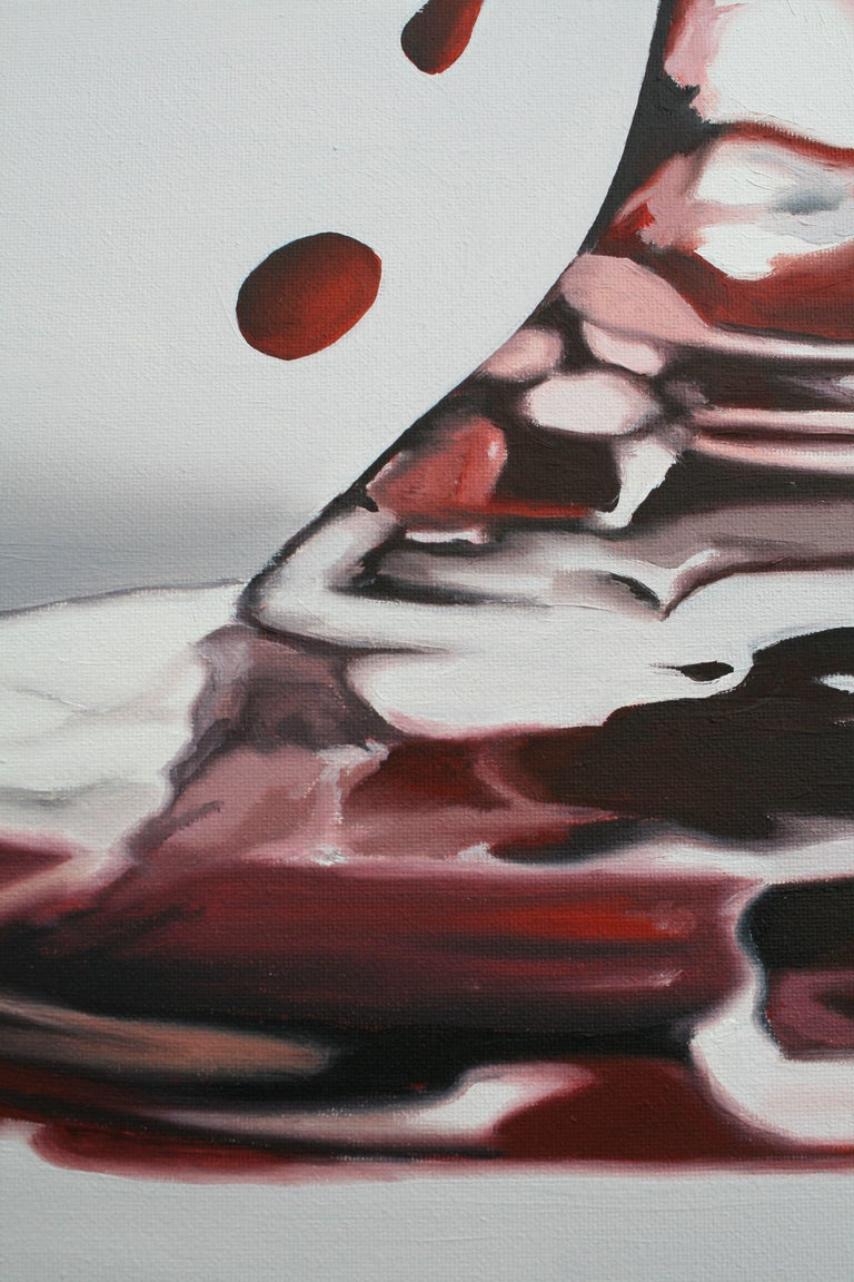 L'ALTRO LATO, Painting, Oil on Canvas For Sale 1