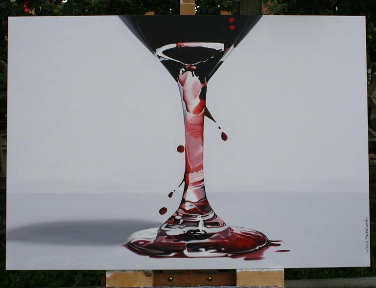 L'ALTRO LATO, Painting, Oil on Canvas For Sale 3