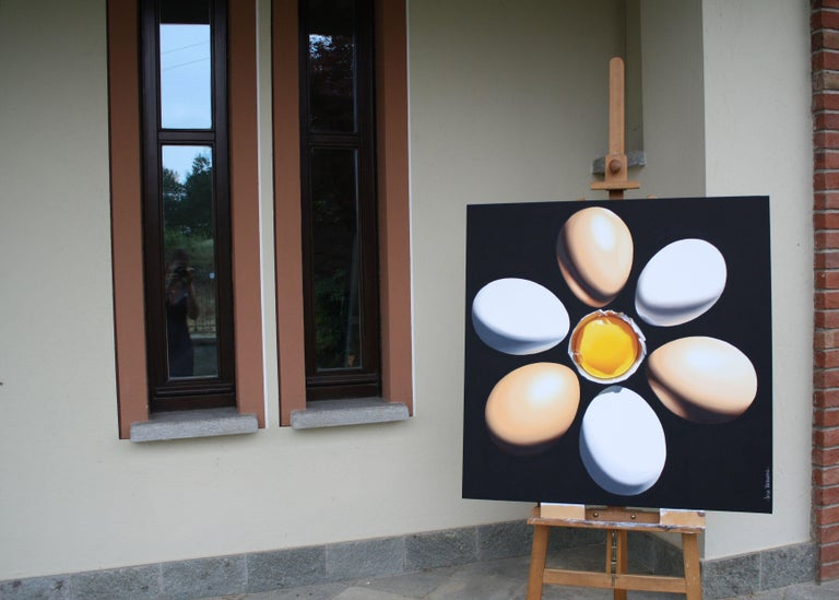 SOLE, Painting, Oil on Canvas For Sale 4