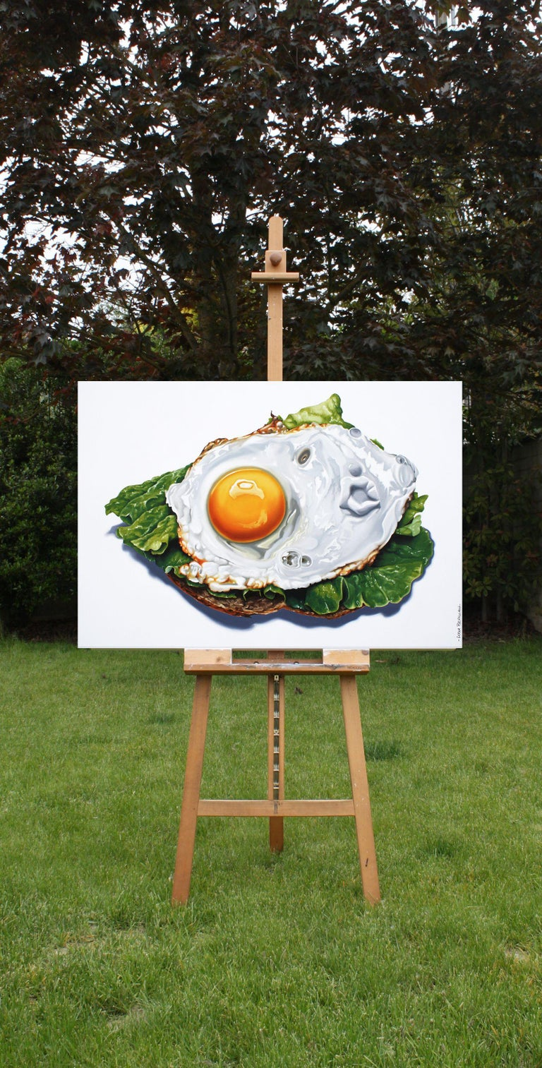 SPUNTINO, Painting, Oil on Canvas For Sale 3