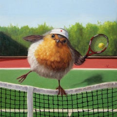 """""""Round Robin"""" Oil Painting"""