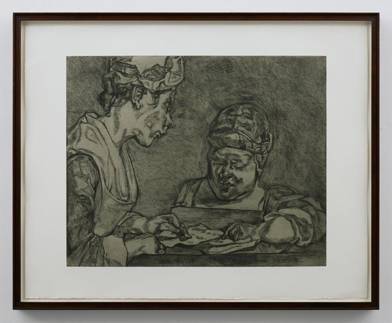 After Chardin - Contemporary Print by Lucian Freud