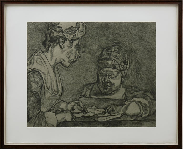 After Chardin - Academic Print by Lucian Freud