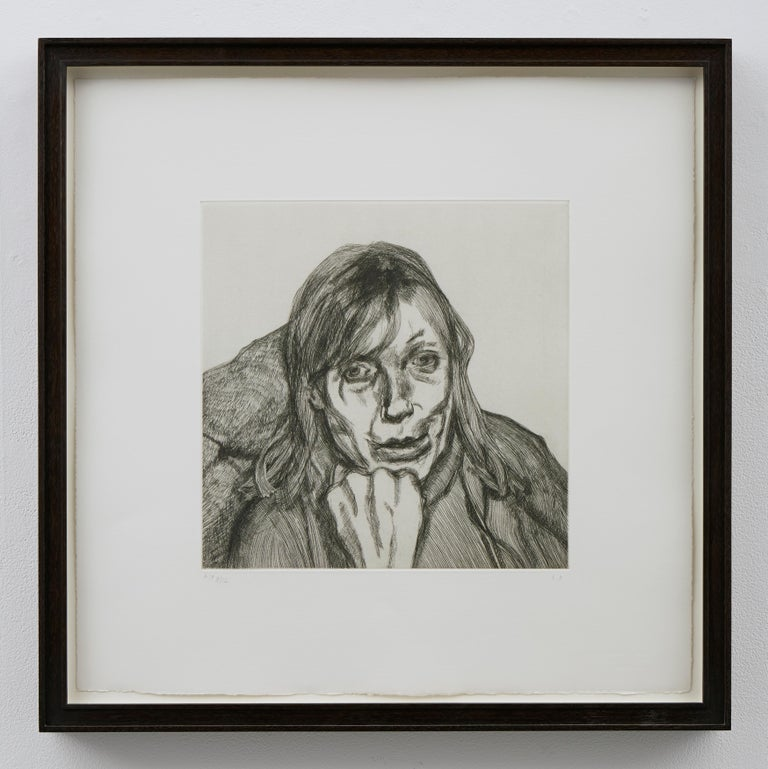 Susanna - Contemporary Print by Lucian Freud