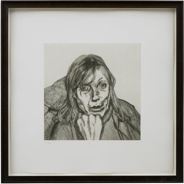 Susanna - Print by Lucian Freud